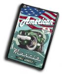 KOOLART AMERICAN MUSCLE CAR Retro 69 Ford Mustang 429 Case For iPad Mini